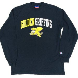 Champion Athletic Tee T-Shirt Golden Griffins